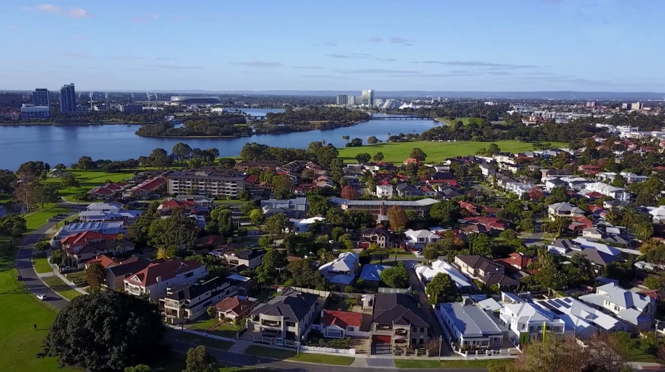 south Perth suburbs Australia