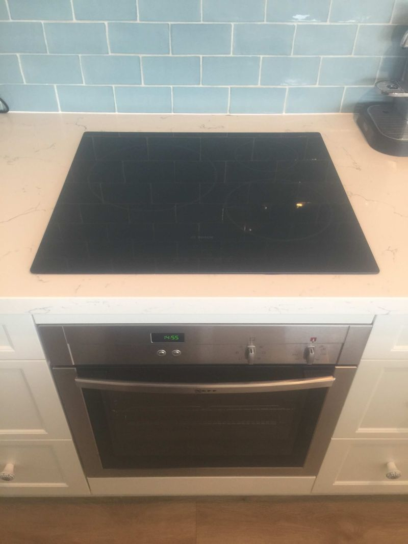 oven and cook top